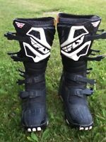 Fly motorcross boots