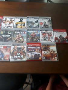 I am selling ps3 games
