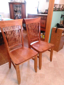 Solid wood xtra large chairs