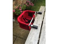 Phil and Teds Me Too portable clip-on highchair