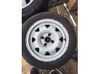 ATS cups 14x6j alloy wheels VW Honda mx5 4x100