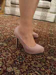 Dusty rose high heels Windsor Region Ontario image 4