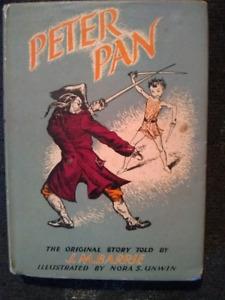 Peter Pan hardcover. 1956.