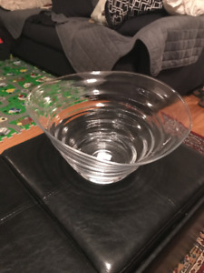 Never Used Sophie Conran Large Glass Salad Bowl - $50