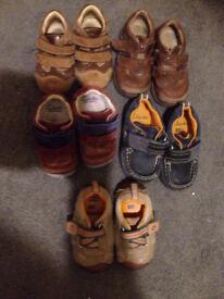 Boys shoes size 4 infants.