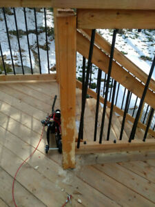 Need  Someone for Small deck repair - to be done by Feb 24
