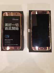 Brand New unlocked Samsung S7 or S7 Edge LTE Dual SIM Pink Gold