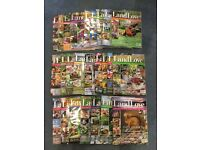Land Love magazine collection - 5 years worth
