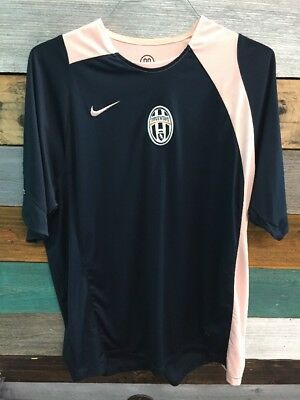 d0d987bccdc Vintage Juventus Italy Nike Total 90 Soccer Jersey Shirt Adult Large Dri Fit