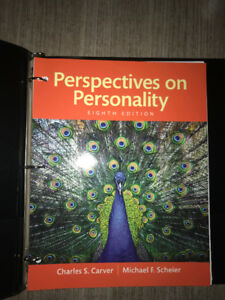 Textbook: Perspectives on Personality