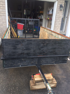 8x5 Utility trailer in EXCELLENT condition, 6 months old