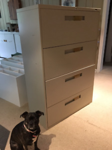 4-DRAWER LATERAL FILING CABINETS