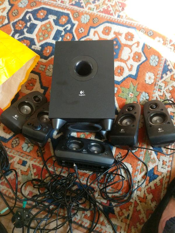 Logitech z506 surround sound computer speakers | in Southampton, Hampshire  | Gumtree