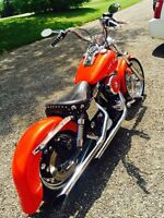 1998 Harley Dyna with 3 stage Paint