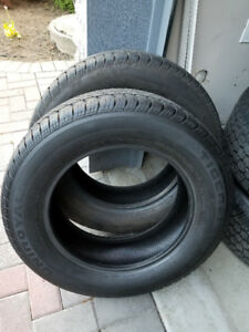 TWO X 225/65R17 Uniroyal Tiger Paw tires
