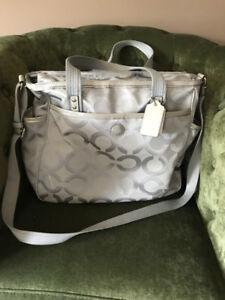 Coach brand Diaper bag