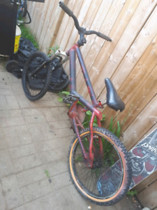 Custom bmx dirt jumper