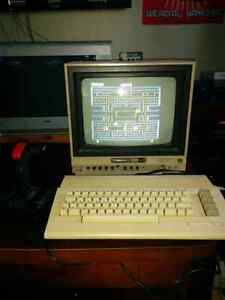 Commodore 64 with 1701 Monitor and extras