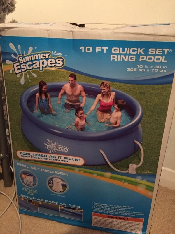 Summer Escapes 10ft Inflatable Swimming Pool In Bognor Regis West Sussex Gumtree