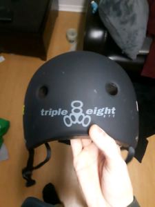 Large BMX/Skateboard Helmet (BARELY USED)