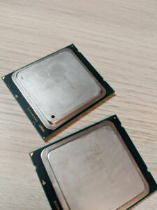 2x Intel Xeon E5-2609 Quad Core CPU Socket 2011