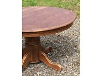 Farm house/pub style table and chairs,
