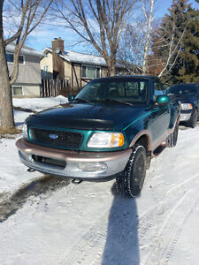 1997 FORD F150 LARIAT SINGLE CAB LOW KMS