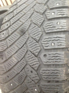3 Continental winter tires 255-55-18