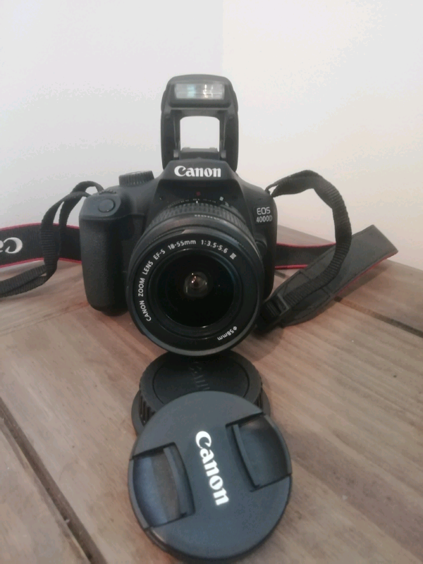 Canon eos 4000D with great quality bag | in Camden, London | Gumtree