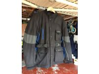 Motorcycle Jacket by Lizards, large size, used but in good condition