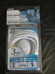 Brand new foot switch extension cable cord London Ontario image 1