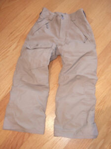 NORTH FACE Kids Snow Pants - Size 7/8, Grey