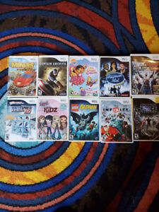 WII games with some Xbox 360 and Xbox one games. NO HOLDS!!!