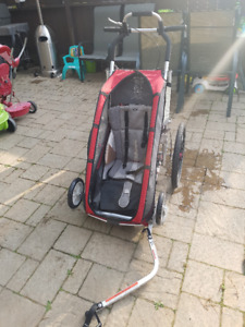 Chariot (Thule) CX1 Bike Trailer Excellent cond. w/ accessories
