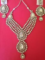 Brand New Indian Necklace Set (Necklace and Earrings only)