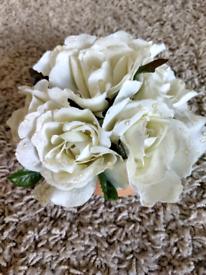 Mini rose in terracotta pot