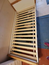 Single bed frame, no mattress 2m x 96cm