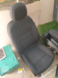Zafira tourer seats