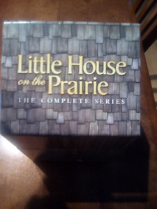 Coffret complet La petite maison dans la Prairie.
