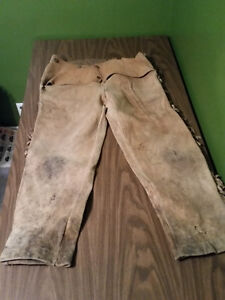 Old Western Leather Clothing - Memorabilia