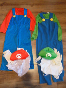 Kid's Mario & Minion Costumes
