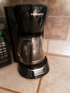 Cafetiere black and decker