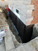 Professional  Waterproofing, Demolition, and Job Site Cleanup