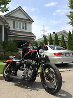 Perfect harley davidson Sportster Nightster 2008 low mileage!