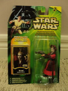Star Wars Sabe (Queen's Decoy) figure *NEW IN BOX*