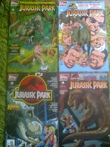 Jurassic Park Comic Set, all 4 issue's