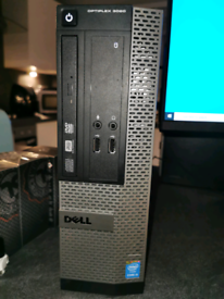 Dell i5 PC with 8GB Ram.