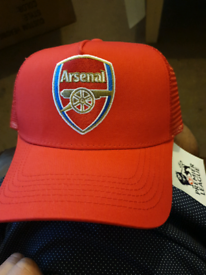 Adults Unisex Arsenal Football Club Supporter Mesh Cap One Size