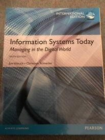 Information Systems Today - Managing in the Digital World