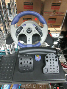 **MAD CATZ** GameCube racing wheel and pedals 5630